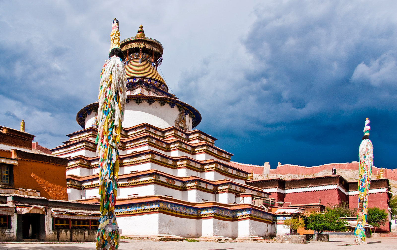 Tibet avec escale a Chengdu