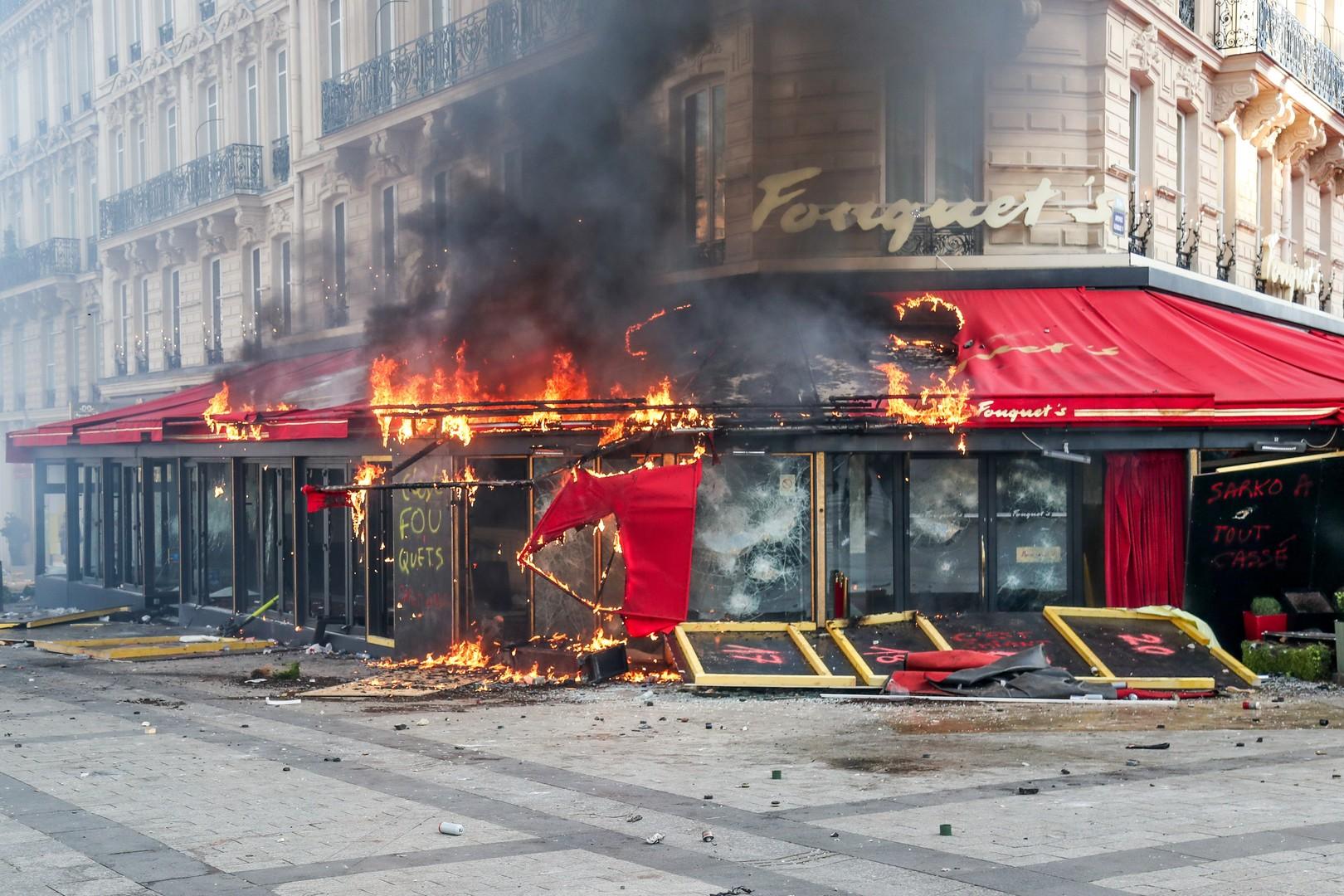 99号的Fouquet's将浴火重生,继续它120年的辉煌。