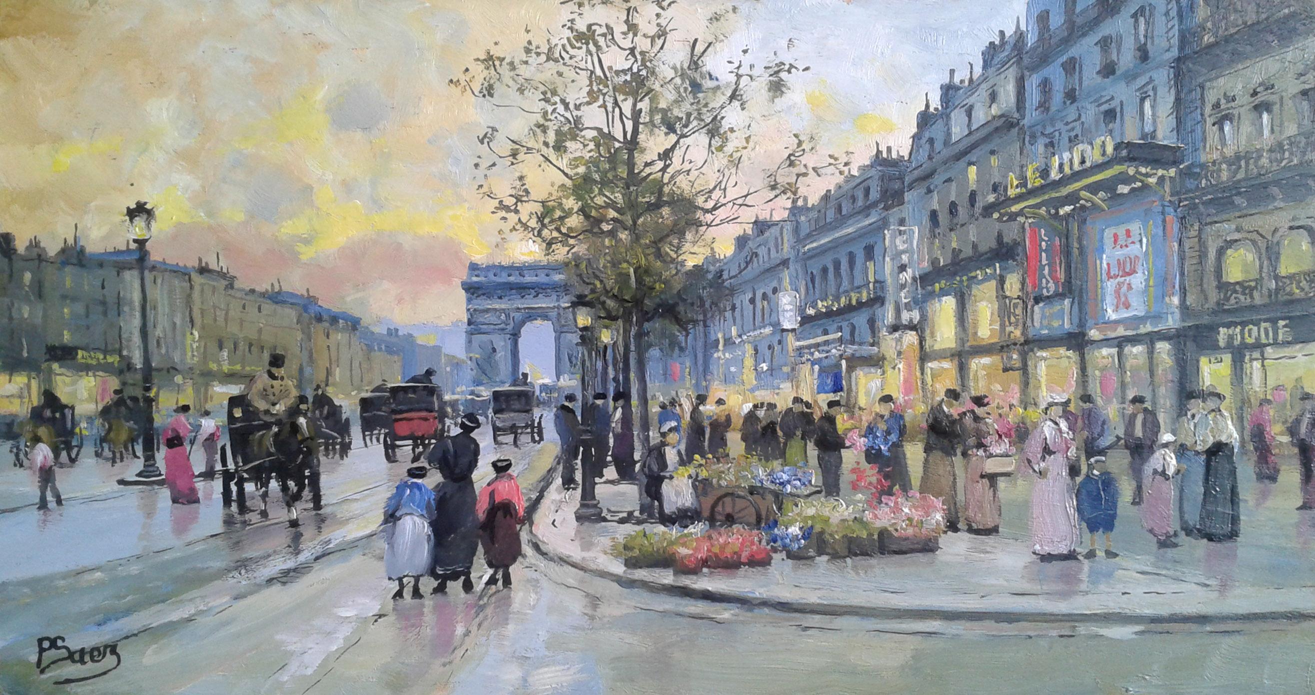丈量巴黎 |香榭丽舍大街的今昔与未来