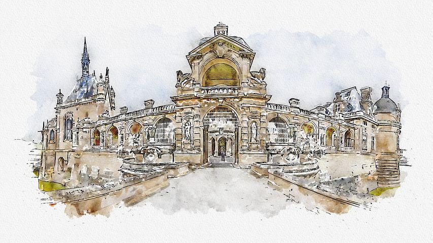 法国文华书院受 尚蒂伊城堡 独家 拍摄系列微型纪录片