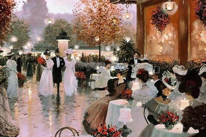 """美好年代(Belle Époque)里的巴黎,繁华、时尚、充满欲望,是当时""""19世纪世界的中心""""。"""