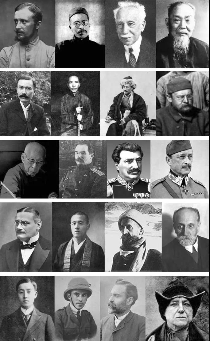 """回顾东西方近代学术,中国近代的一流学者们,如王国维、陈垣、陈寅恪、饶宗颐等,都不约而同地,毅然转向边疆史研究;而欧洲,则走向了境外考古,其实质,即致力于:走向人类学概念中的""""他者""""(L'Autre)…… 20世纪蓬勃发展的敦煌学,更是人所共见。敦煌、新疆,是动荡民国时代人的边疆。"""