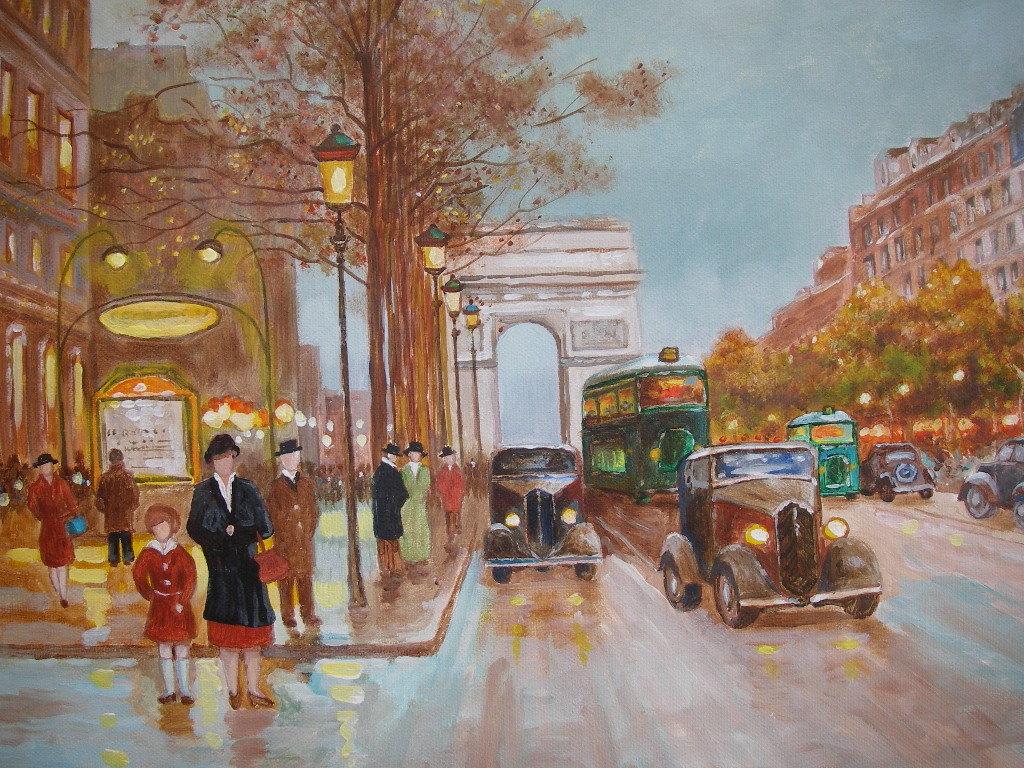 """巴黎人已经习惯地把它称作""""香街""""。"""