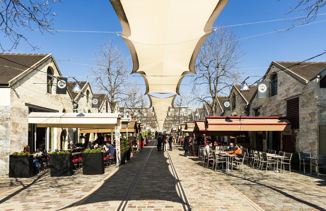 如今的贝西村: 古老的葡萄酒仓库成为各种小清新们的乐园。