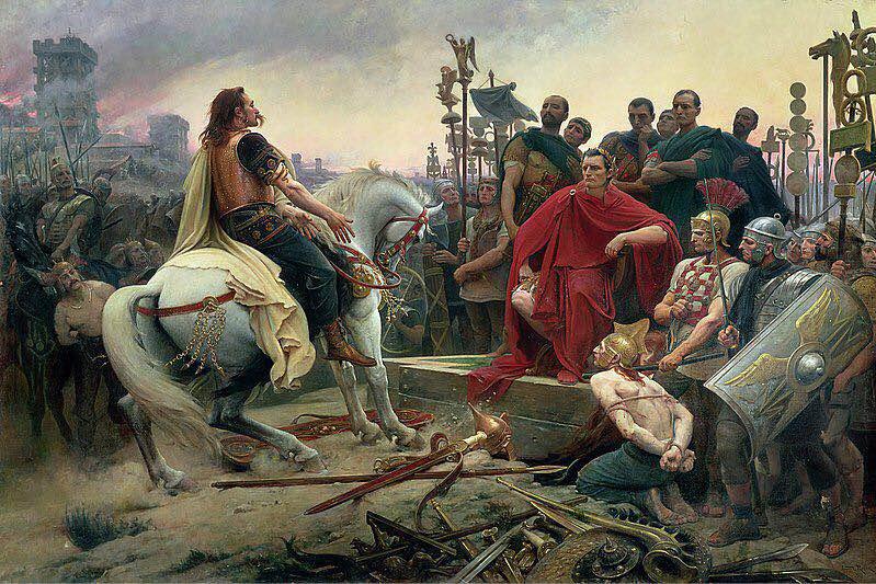 公元前52年,尽管高卢英雄维钦托利(Vercingétorix)带领人民浴血奋战,然而,从来就没怎么团结过的高卢人终归没有逃脱被统治的命运。高卢罗马时代正式开启.