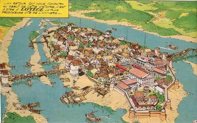 吕戴斯并不是高卢罗马的首府,但却是最重要的城市之一。