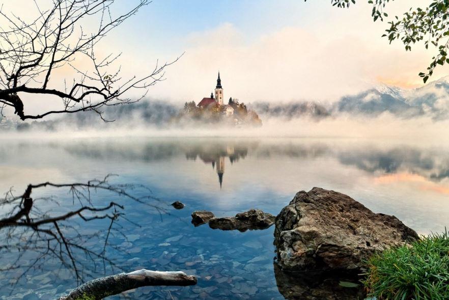 卢布尔雅那(Ljubljana)-波斯托伊纳溶洞(Postojna Cave)-布莱德湖(Lake Bled)