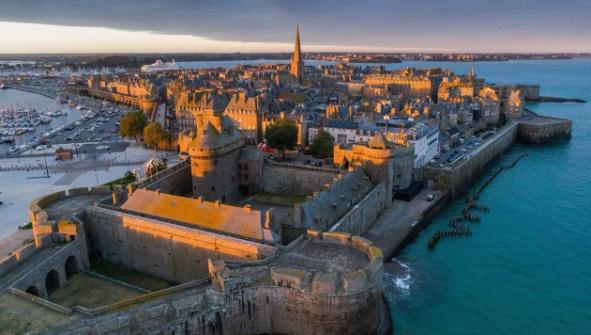 迪南(Dinan)-迪纳尔(Dinard)-圣马洛(Saint Malo)