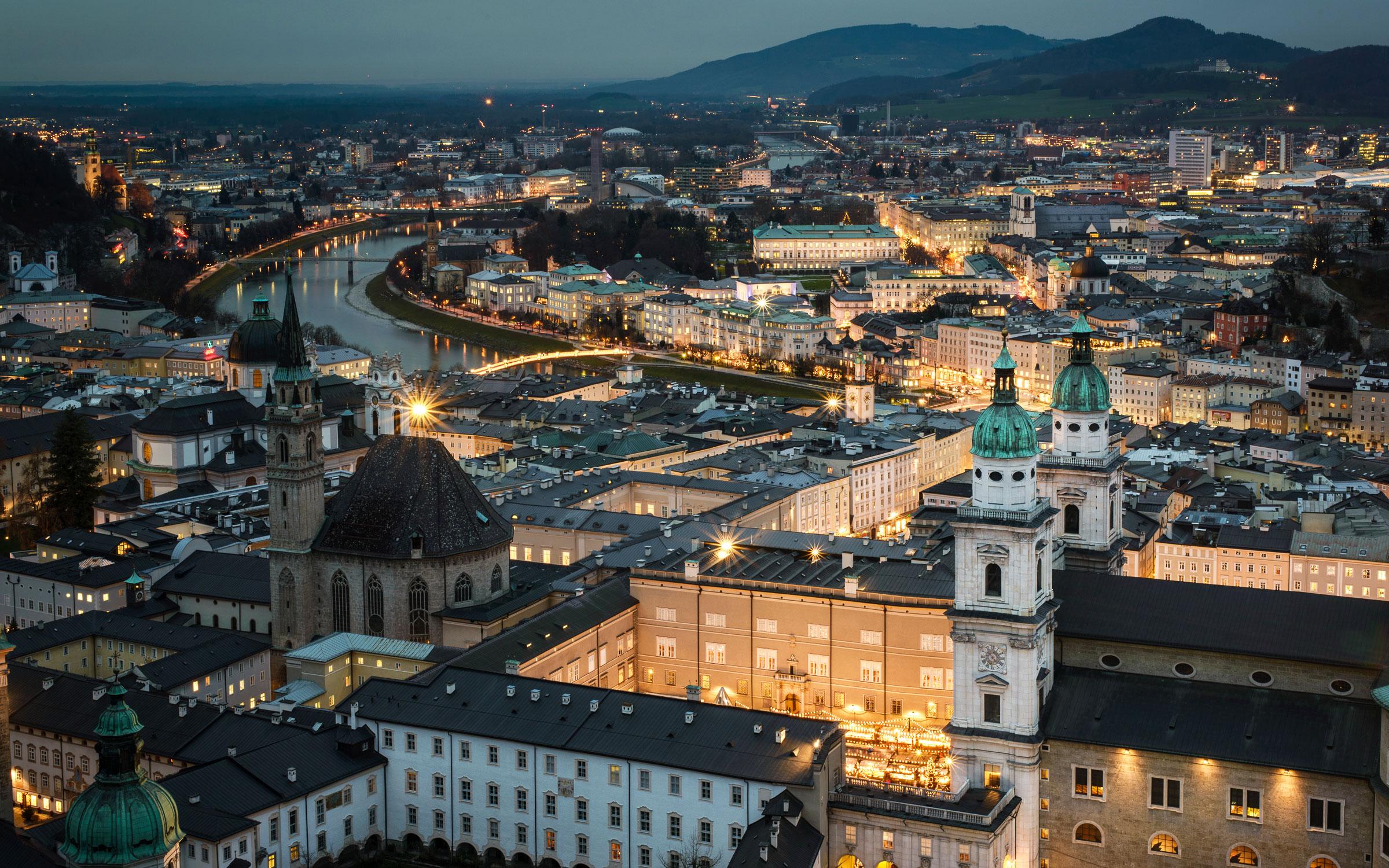 布莱德 (Bled)-萨尔茨堡(Salzburg)