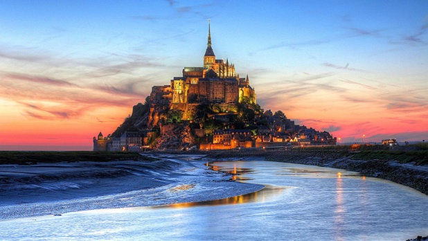 圣米歇尔山(Mont Saint-Michel)-卡堡(Cabourg)
