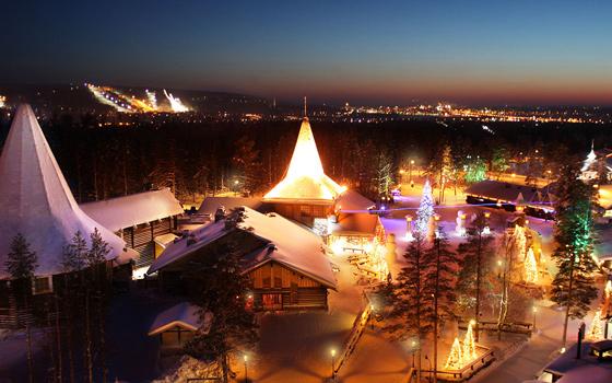 赫尔辛基-罗瓦涅米-萨利色尔卡丨探访童话中的圣诞老人,入住北极别无二家的五星别墅酒店