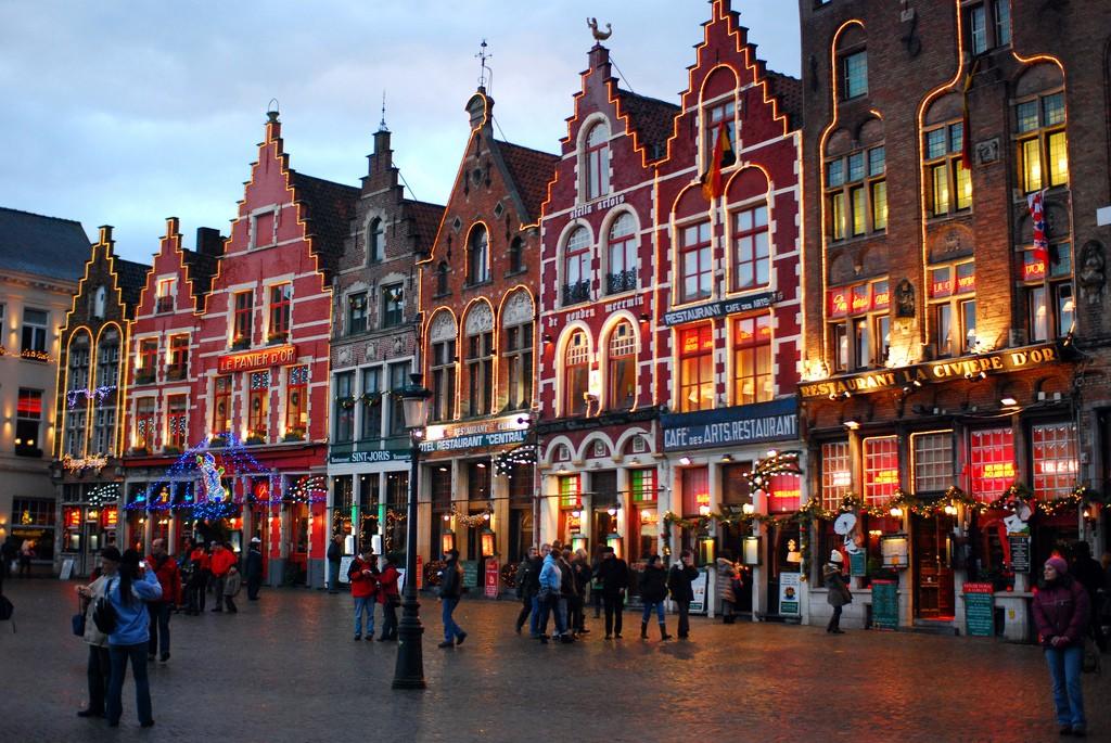 巴黎(Paris) – 布鲁日(Bruges) – 布鲁塞尔(Brussels)