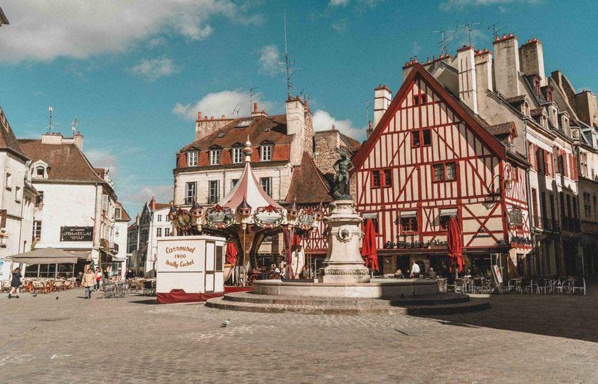 巴黎(Paris)--第戎(Dijon)--安纳西(Annecy)