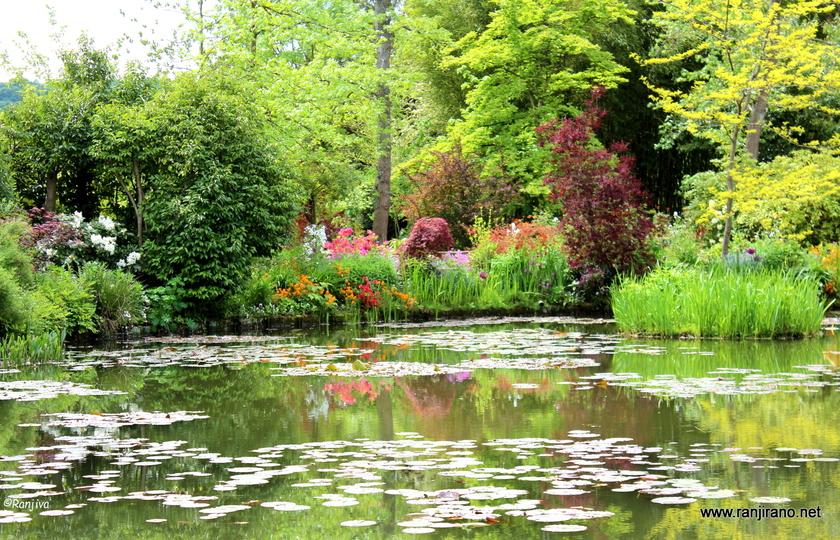 巴黎(Paris)--莫奈花园(Jardin Monet)--拉罗什吉永(La Roche-Guyon)