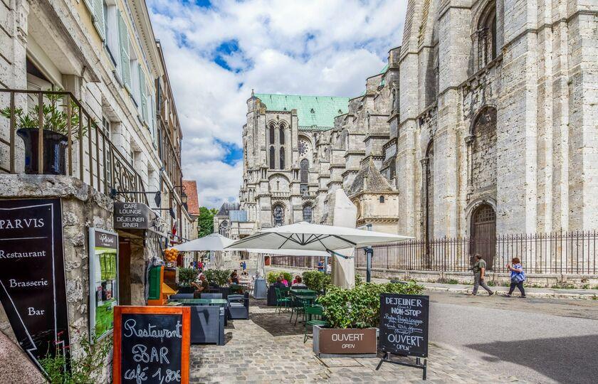 巴黎(Paris) -- 沙特尔(Chartres)-- 巴黎(Paris)
