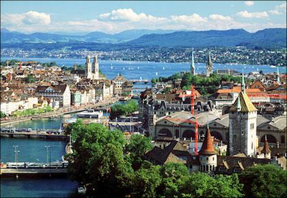 洛桑(Lausanne) – 伯尔尼(Bernese) – 琉森(Lucerne)