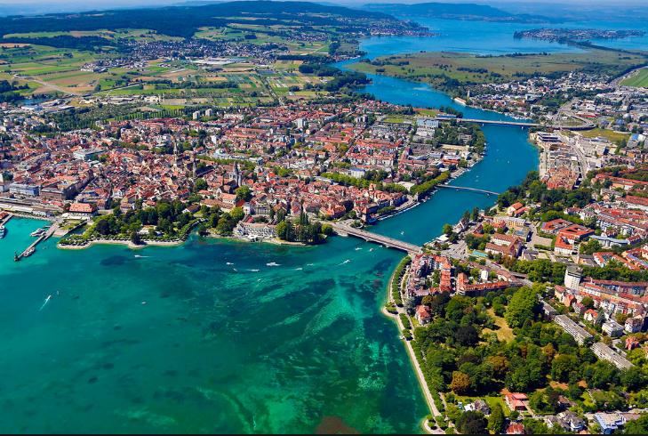 康斯坦茨(Konstanz)-博登湖(Bodensee) -林道(Lindau)(217KM)