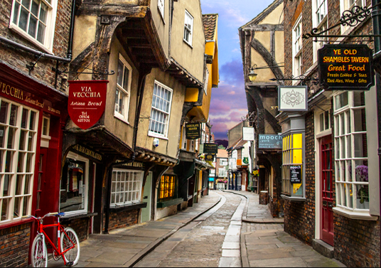 剑桥(Cambridge)-约克(York)
