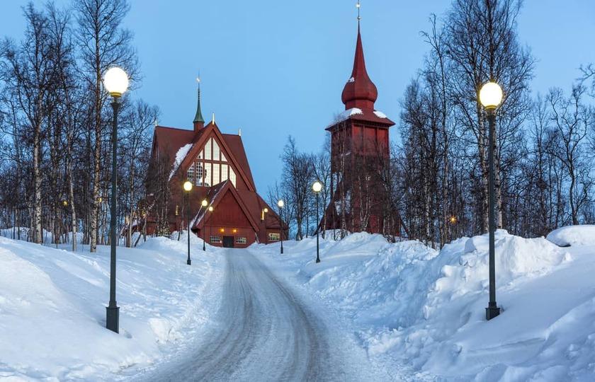 斯德哥尔摩(Stockholm)- 基律纳(Kiruna)