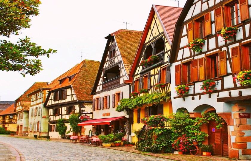 第 2 天:贝尔盖姆(Bergheim)- 奥贝奈(Obernai)