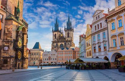 玛利亚温泉城 (Marianske Lazne)- 布拉格(Prague)