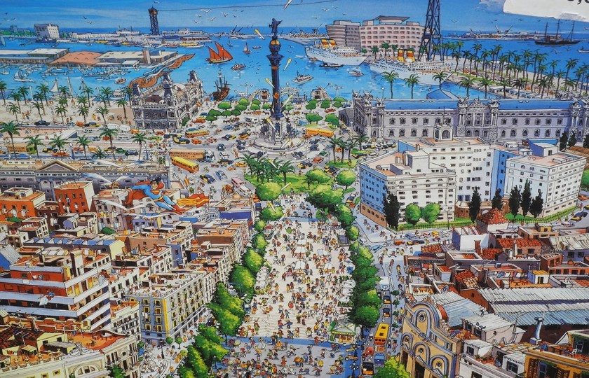 赫罗纳(Girona) - 巴塞罗纳(Barcelona)