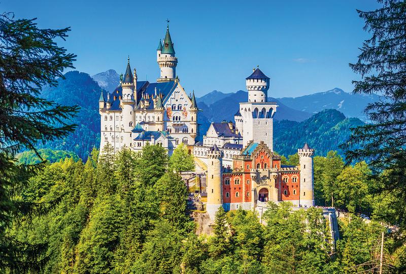 新天鹅堡(Neuschwanstein Castle)–慕尼黑(Munich)