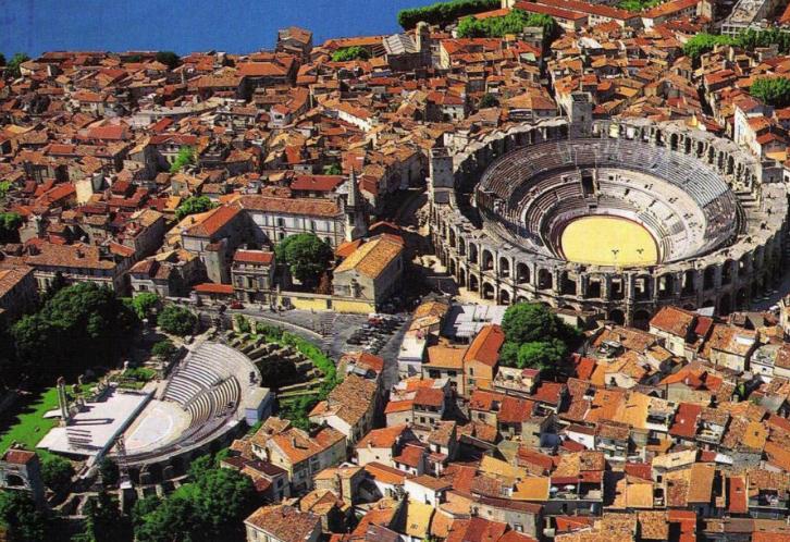 尼姆(Nimes)-阿尔勒(Arles)-艾克斯普罗旺斯(Aix en provence)