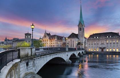 苏黎世(Zurich) – 巴黎(Paris)