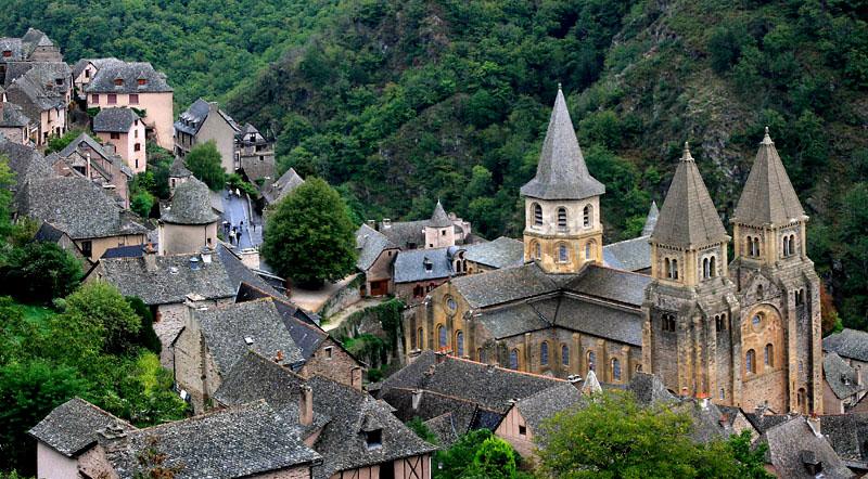 Clermont Ferrand-贡克村(Conques)