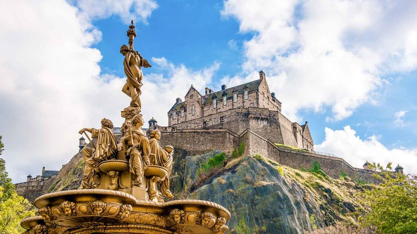约克York→爱丁堡Edinburgh→格拉斯哥Glasgow(400公里)