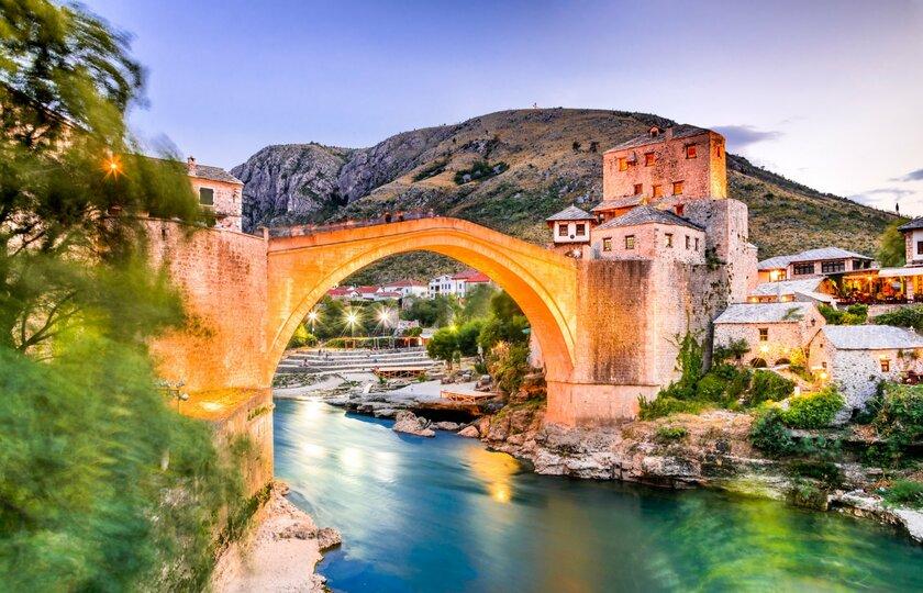 莫斯塔尔(Mostar)  - 布德瓦(Budva)