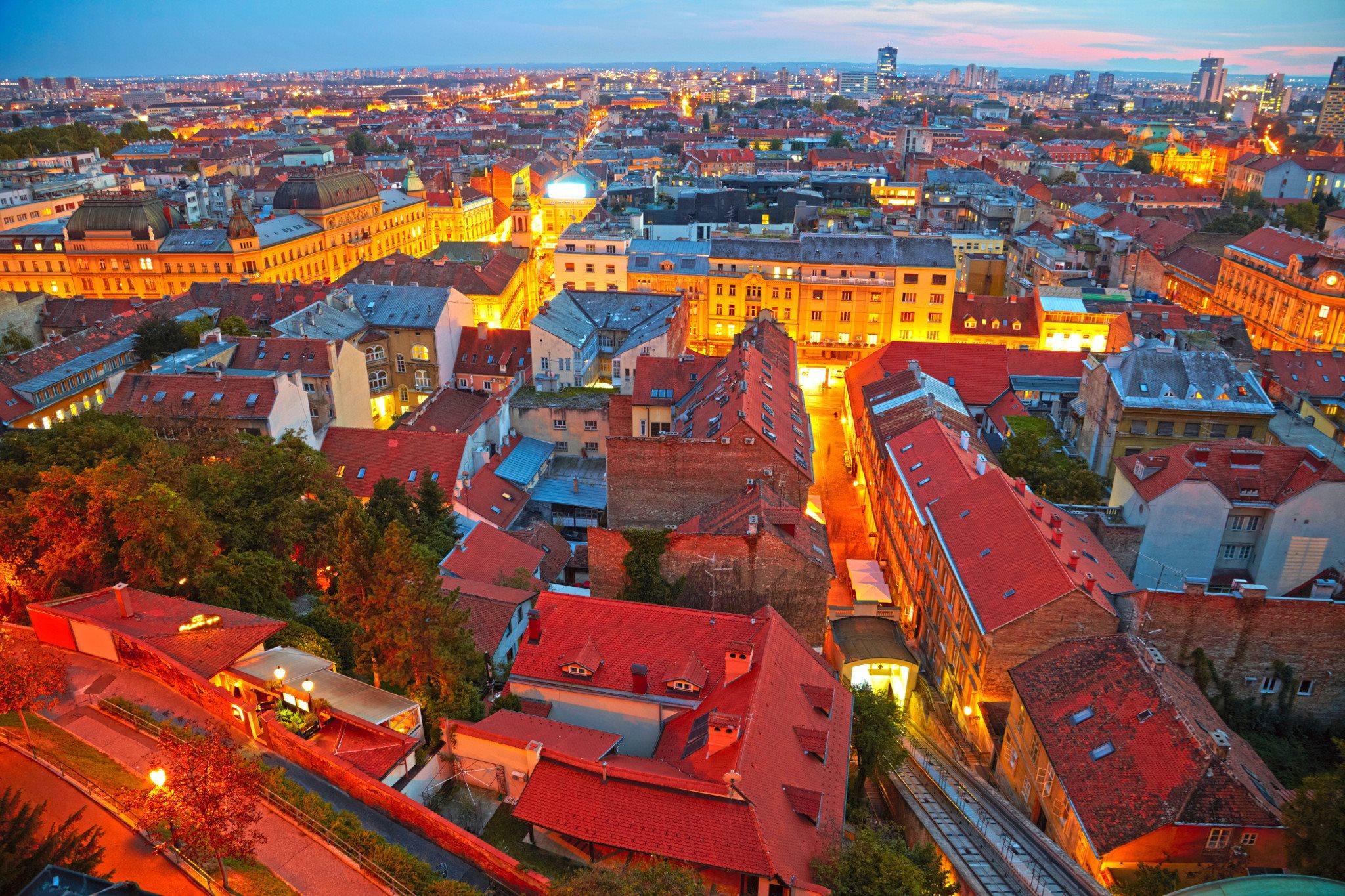 布莱德(Bled)萨格勒布(Zagreb)-巴黎(Paris)