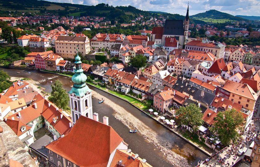 库特纳霍拉(Kutná Hora)- CK小镇(Český Krumlov)- 维也纳(Vienne)