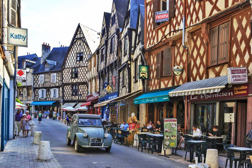 薇姿(Vichy) - 博格斯(bourges) - 巴黎 (Paris)