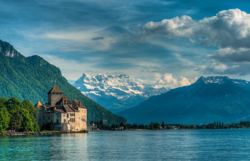 伯恩(Bern) - 西庸城堡(chateau de chillon) -洛桑(Lausanne) - 日内瓦(Geneve)