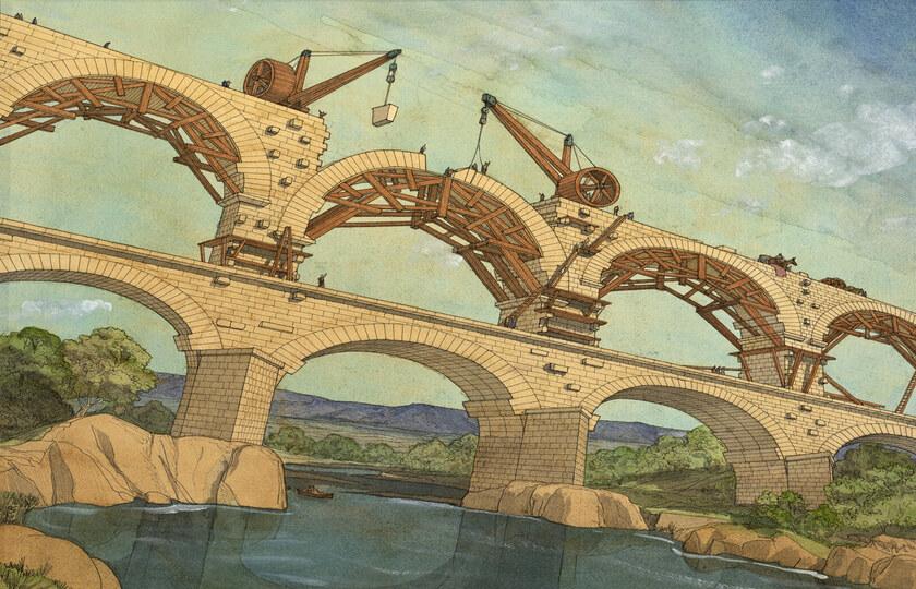 艾克斯(Aix) - 阿尔勒(Arles) - 嘉德水桥(Pont du Gard)