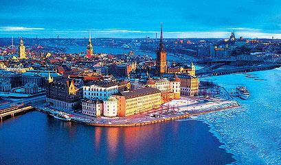 奥斯陆(Oslo) - 斯德哥尔摩(Stockholm)