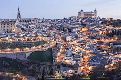 马德里(Madrid) --- 托雷多(Toledo) --- 爱尔凡斯(ELvas)或巴达霍斯(Badajoz)