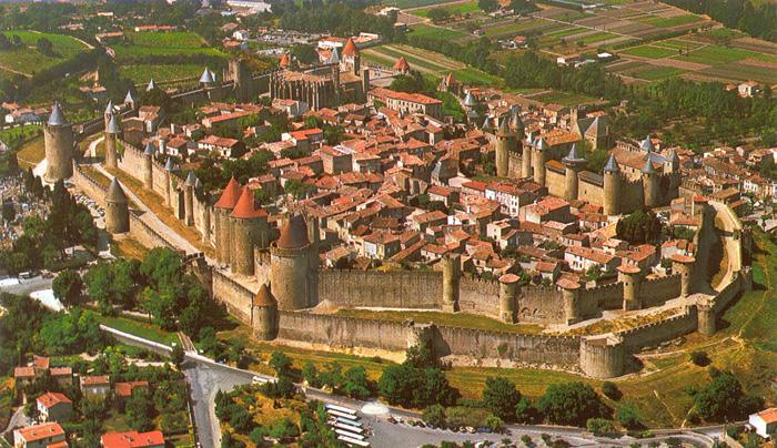 卡尔卡松(Carcassonne)