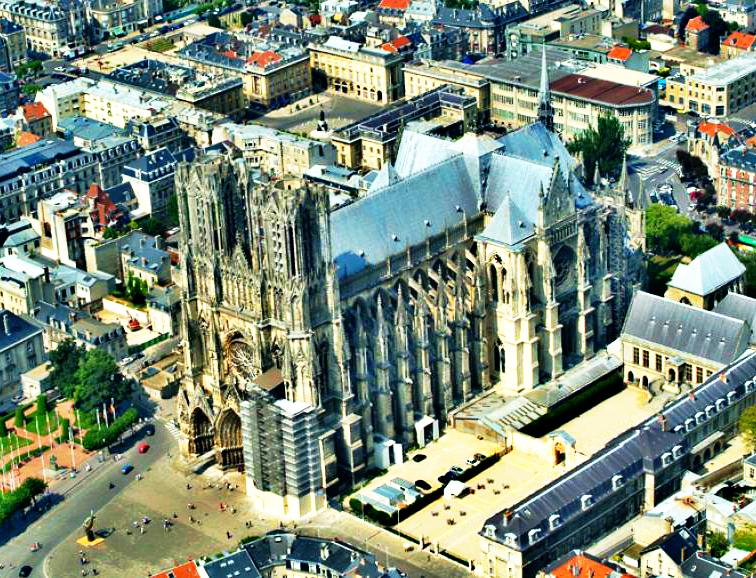 梅斯(Metz) - 兰斯(Reims) - 巴黎(Paris)