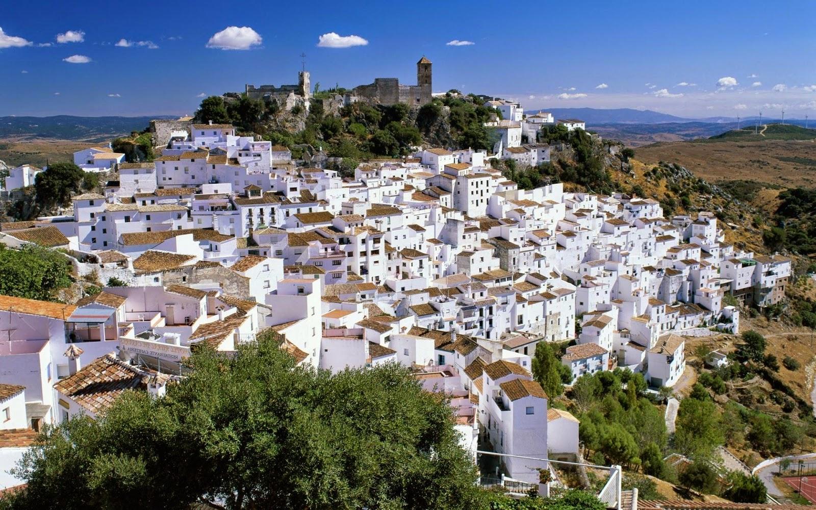 马拉加(Málaga)-米哈斯(Mijas)-胡斯卡尔(Júzcar)-龙达(Ronda)