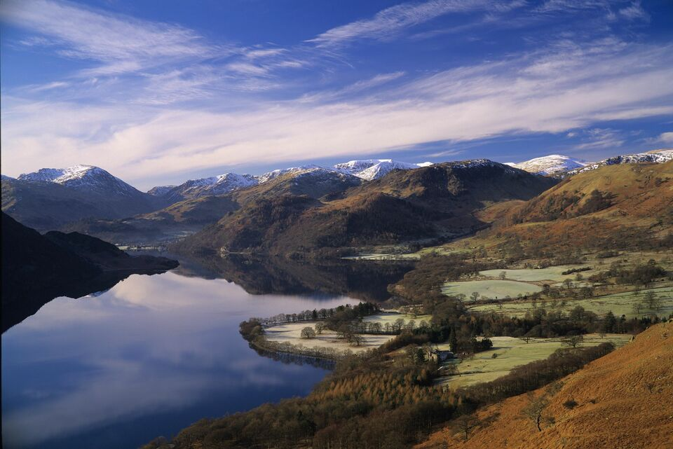格拉斯哥Glasgow→格雷特纳.格林Gretna Green→湖区Lake District→曼彻斯特Manchester(360公里)