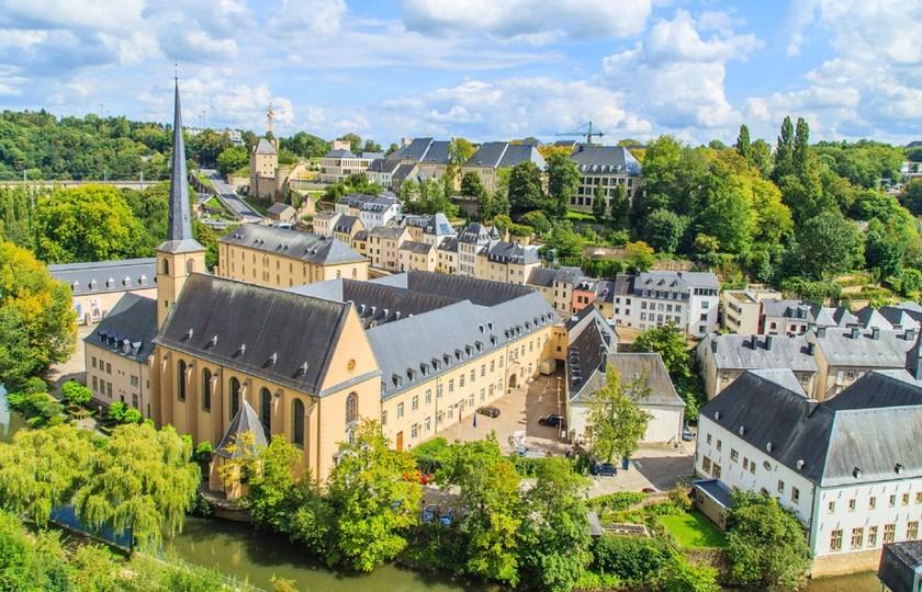 卢森堡(Luxembourg)-兰斯(Reims) – 巴黎(Paris)