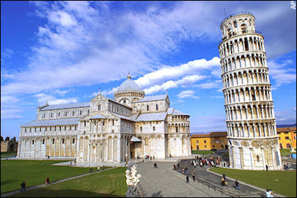 罗马(Rome)  – 比萨(Pisa)