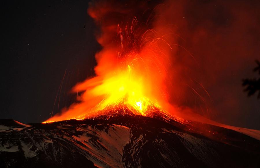 陶尔米纳 (Taormine)-埃特纳火山 Mount Etna-卡塔尼亚(Catane)