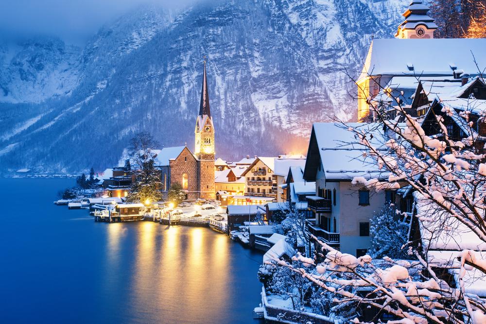 萨尔茨堡(Salzburg)-哈尔施塔特(Hallstatt)-圣沃尔夫冈(St. Wolfgang)(冬日行程微调)