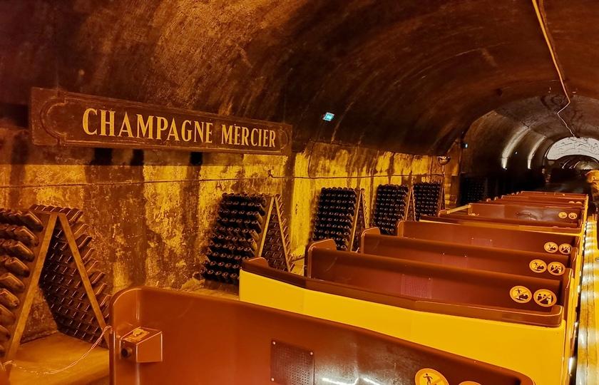 兰斯(Reims) - 酩悦香槟酒庄(Mercier) - 巴黎(Paris)