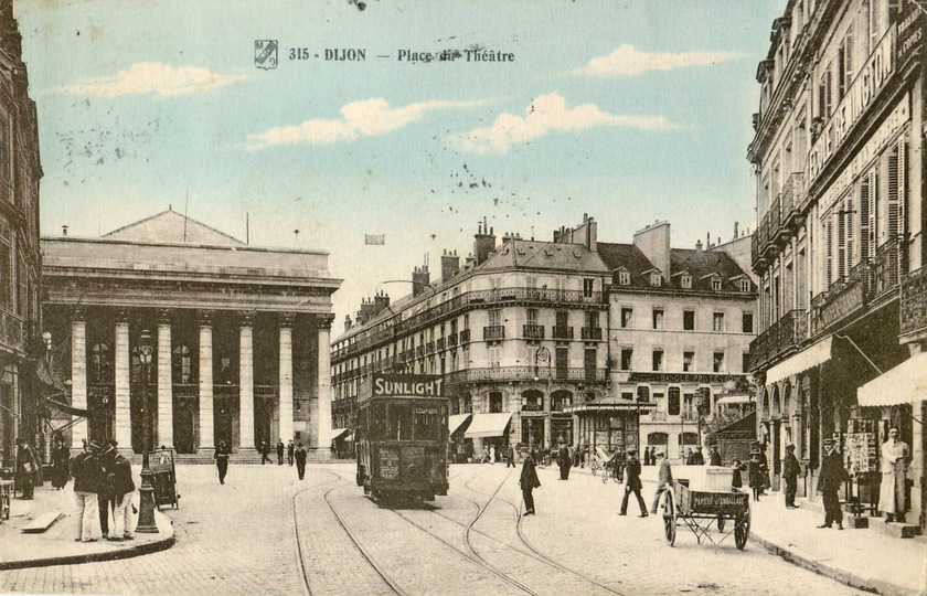 里昂(Lyon) --第戎(Dijon)-- 巴黎(Paris)
