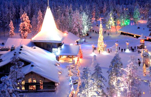 萨利色尔卡-罗瓦涅米-托尔尼奥丨联合国认证的圣诞老人村,探访童话中的圣诞老人